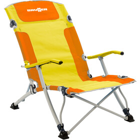 Brunner Bula XL Campingstol, orange/yellow